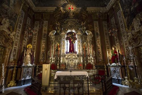 El Salvador church, Seville, Andalusia, spain