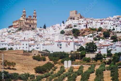 Foto Murales Olvera in Andalusia