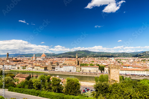 Foto op Canvas Florence View of Florence, Italy.