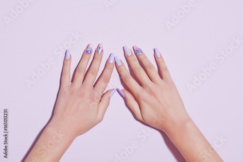 Foto op Canvas Manicure Beauty and fashion.