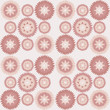 Pink seamless vintage ornament - 165034296