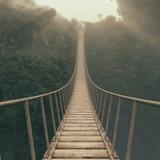 Most linowy zawieszony