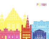Poznan skyline pop