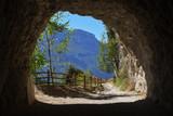 Alte Ponalestraße mit Tunnel, bei Riva del Garda