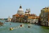 Santa Maria Della Salute, Venice, Italy from the Grand Canal