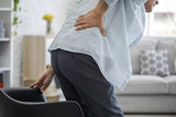 Old man with back pain - 165105643