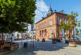 Geisenheim, das Rathaus. 9. Juli 2017.