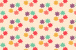 abstract colorful flower pattern - 165150407