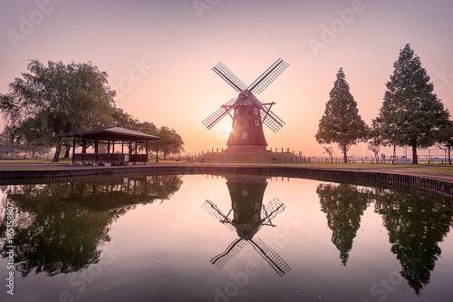 Plakát Akebonoyama Windmill