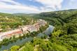 Le Doubs vu depuis la citadelle Vauban de Besançon - 165179816