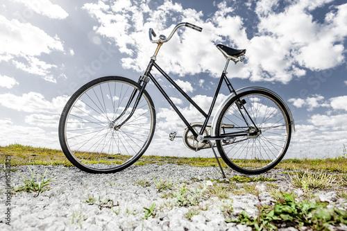 Foto op Plexiglas Fiets Retro Fahrrad