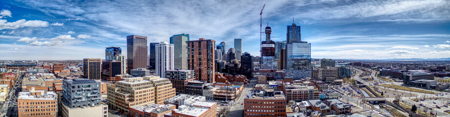 Downtown Denver Pano Southeast © Andrew
