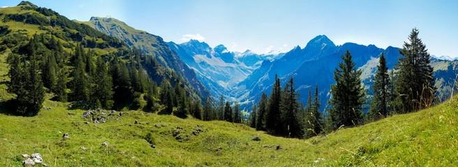 Berge Alpen Oberstdorf Deutschland Österreich