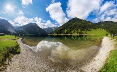 Berge Alpen Oberstdorf Deutschland Österreich See