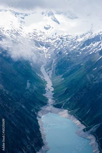 Staande foto Nachtblauw Berge Alpen Achensee Österreich