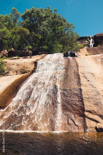Fotobehang Natuur Park Beautiful waterfall at Bowling Green Bay National Park, Alligator Creek, Queensland, Australia