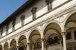 Quadro Arcade at Piazza della Santissima Annunziata