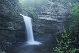 waterfall flower creek rocks boulders usa Arkansas Park