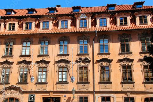 Poster Palais in Prag