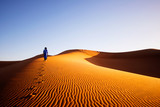 Alone in Sahara, Morocco