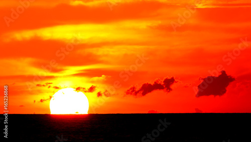 Sunrise and Sunset background