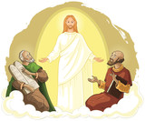 Transfiguration of Jesus Christ with Elijah and Moses