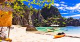 Island hopping - inceredible El Nido, wild beauty of Philippines island - 165274608