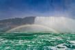 Full rainbow arc in Niagara Falls