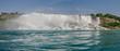 Rainbow arc in Niagara Falls