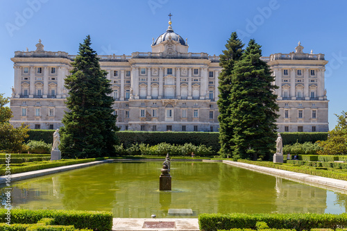 Palacio Real in Madrid, Spain Poster