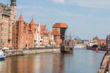 Krantor (Brama Żuraw, Żuraw) Gdańsk (Danzig) pomorskie (Pommern) Polska (Polen)