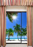 Okno widok na ocean