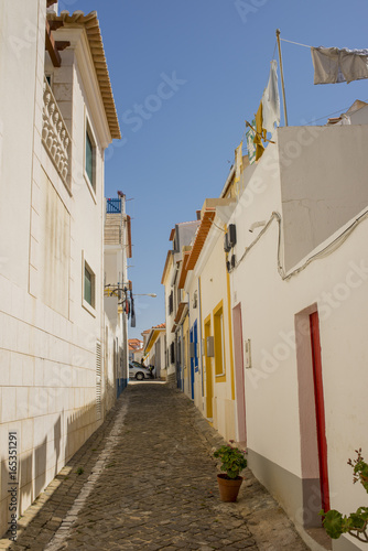 Colored houses of Ericeira