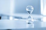 Sand clock, business time management concept - 165376623