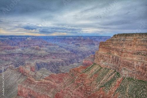 Foto op Canvas Cappuccino Vistas del Gran Cañon del Colorado