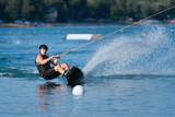 Wakeboard rider - 165386289