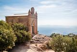 Sant Joan Chapel in Montserrat. Catalonia. Spain.