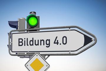 Signal auf Grün für Bildung 4.0 Digitale Bildung bleibt als ein Zukunftsthema.