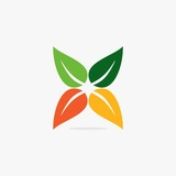 GREEN LEAF ICON DESIGN