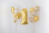 Decoration for 1 years birthday, anniversary - 165449060