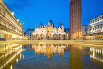San Marco square with Saint Mark's Basilica