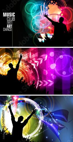 Dancing people - 165486009
