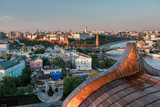 Moscow Kremlin at sunset - 165487299