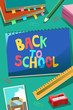 Back to School Poster - 165502497