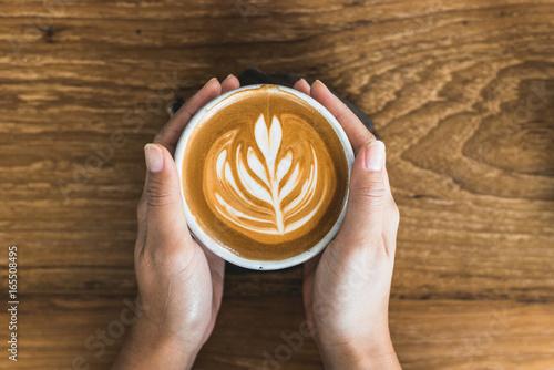 Wall mural Latte Art