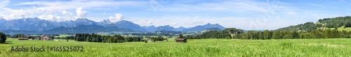 Naturlandschaft am bayrischen Alpenrand