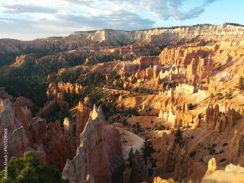 Foto op Canvas Diepbruine Bryce Canyon