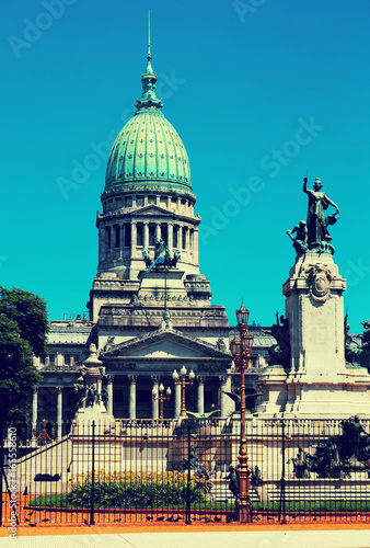 Foto op Aluminium Buenos Aires Palace of the Argentine National Congress