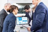 Planung von Webdesign und SEO im Business - 165586402