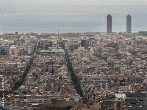 Vistas de Barcelona,Cataluña,España